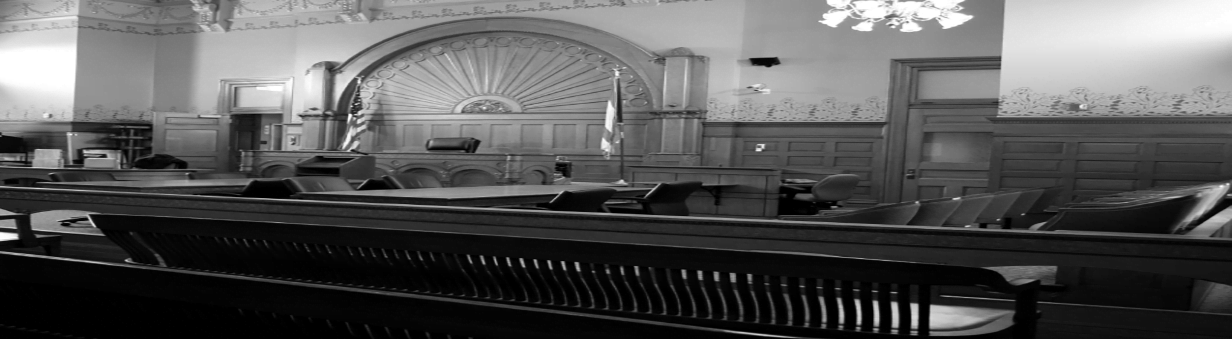 inside picture of a trial court room